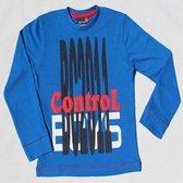 BOYS iN Control Jongen T-shirt - cobalt - Maat 92