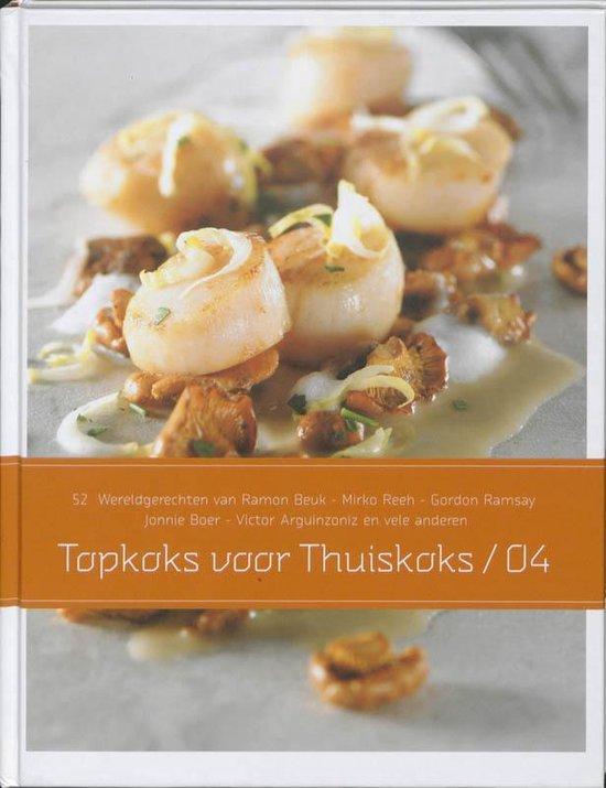 Boek cover Topkoks Voor Thuiskoks 4 van Diverse auteurs (Hardcover)