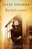 Boek cover Rachels verzet van Julie Thomas
