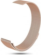123Watches.nl Fitbit charge 3 milanese band - champagne goud - SM