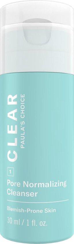 Paula's Choice Clear Reinigingsgel | Verwijdert overtollig talg & minimaliseert poriën | Alle huidtypen | Mini 30 ml