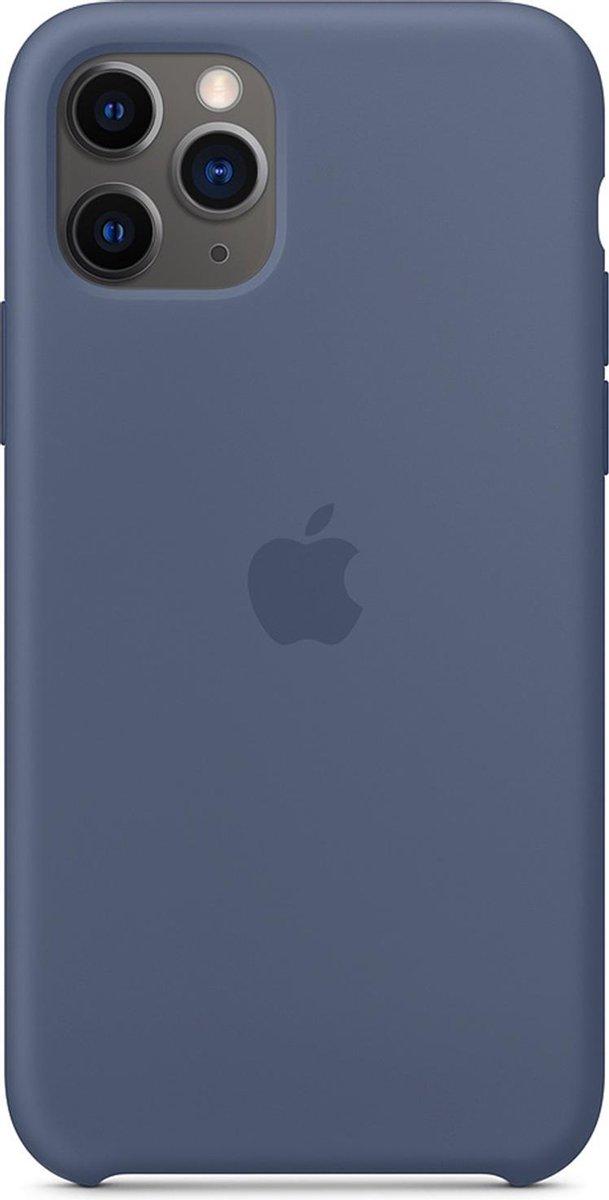 Apple Siliconen Hoesje voor iPhone 11 Pro - Alaska Blauw