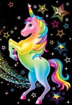 Lienz® Diamond Painting kinderen 30x40cm – Rond - Unicorn - Eenhoorn - Disney - Pakket Volwassenen