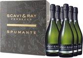 Scavi & Ray Prosecco Spumante - 6 x 75 cl - Doos
