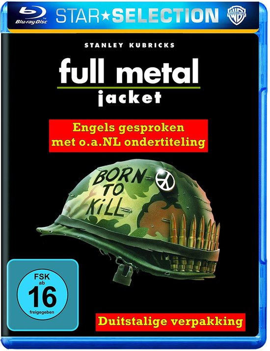 Full Metal Jacket (Blu-ray) (Import)