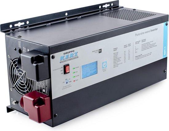 Omvormer zuivere sinus - acculader combinatie 3000W-12V