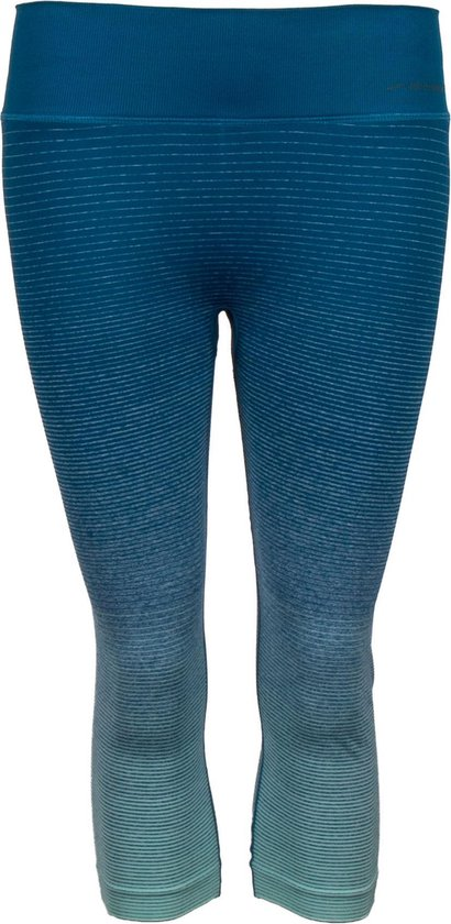 Brooks Streaker Sportlegging - Maat S  - Vrouwen - Blauw/grijs