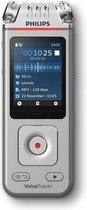 Philips Voice Tracer DVT4110/00 dictaphone Flashkaart Chroom, Zilver