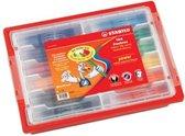 Stabilo Power kleurstiften, classpack met 144 stiften, geassorteerde kleuren