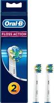Oral-B Floss Action - Opzetborstels - 2 stuks
