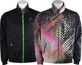 Australian - Reversible Suit - Zwart/Groen/Roze/Roos/Wit - Heren - maat  54