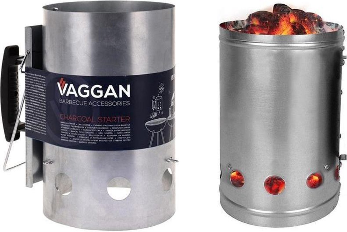 Vaggan Brikettenstarter - luxe uitvoering