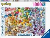 Ravensburger puzzel Pokémon Challenge - Legpuzzel - 1000 stukjes - Multicolor