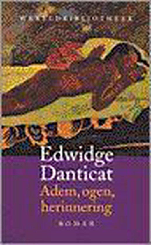 Wereldbibliotheekreeks adem, ogen, herinnering - Edwidge Danticat pdf epub