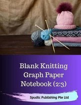 Blank Knitting Graph Paper Notebook (2