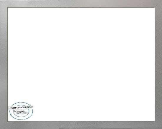 Homedecoration Misano – Fotolijst – Fotomaat – 58 x 75 cm  – Aluminium geborsteld