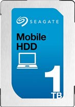 Seagate interne harde schijven 1TB, SATA 6Gb/s, 128MB, 13 ms, 600 MB/s, 140MB/s, 0.48%, Halogen-free, RoHS compliance
