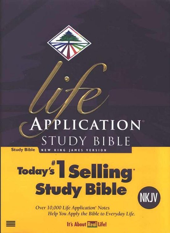 NKJV Life Appl. Bible Colour Hardcover - Diverse auteurs |