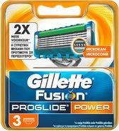 Gillette Fusion5 ProGlide Power Scheermesjes 3 stuks