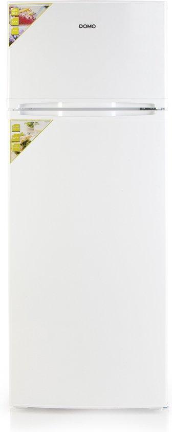 Koelkast: Domo DO915TDK - Compacte Koel-vriescombinatie - Wit, van het merk Domo