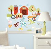 RoomMates Muursticker Happi Barnyard - Multi