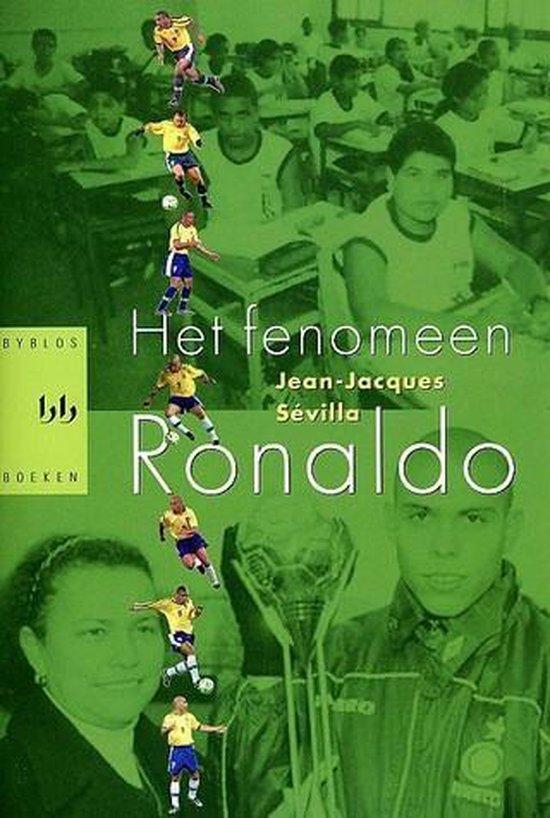 Cover van het boek 'Het fenomeen Ronaldo' van J.-J. Sevilla