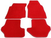 PK Automotive Complete Velours Automatten Rood Fiat Punto 2003-2010