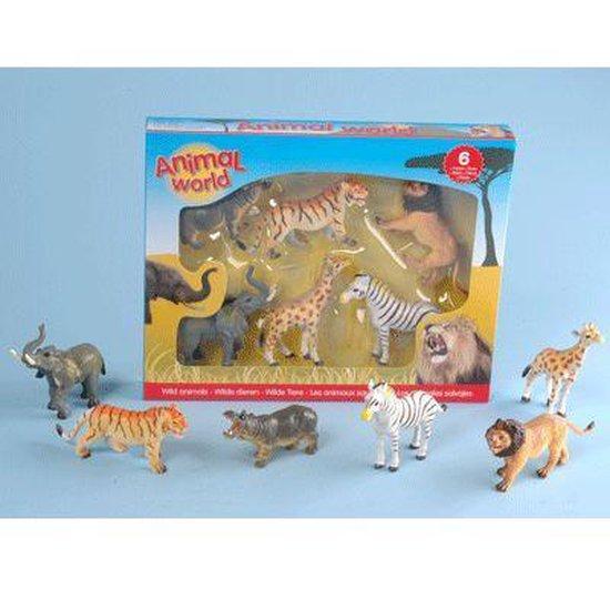Safari dieren assortiment
