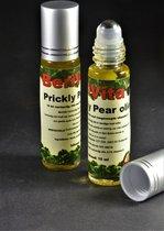 Cactusvijgolie Puur 10ml Rollerfles - Koudgeperste en Onbewerkte Prickly Pear Oil