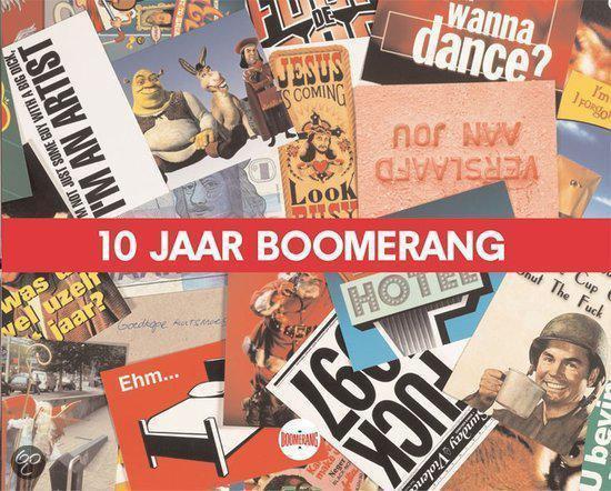 Cover van het boek '10 jaar Boomerang' van Olivier Wegloop