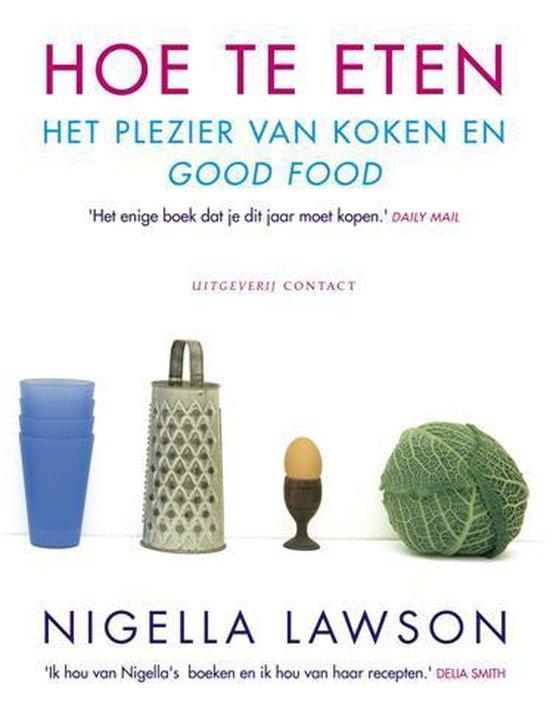 Cover van het boek 'Hoe te eten'