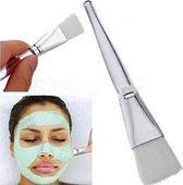 Maskerkwast - Mooi masker = mooie huid - Transparante kwast - make up - zachte concealer kwast - penseel - unisex