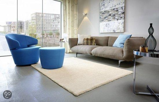 Astra Samoa - Vloerkleed - 140x200 cm - Kunststof - Beige