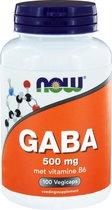 NOW Voedingssupplementen GABA 500 mg