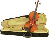 DIMAVERY Viool muziekinstrument - 4/4 - met strijkstok en koffer