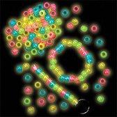 Glow-in-the-dark-kralen - kralenset - 200 stuks