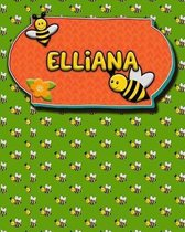 Handwriting Practice 120 Page Honey Bee Book Elliana