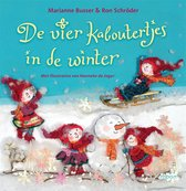Boek cover De vier kaboutertjes in de winter van Marianne Busser (Binding Unknown)