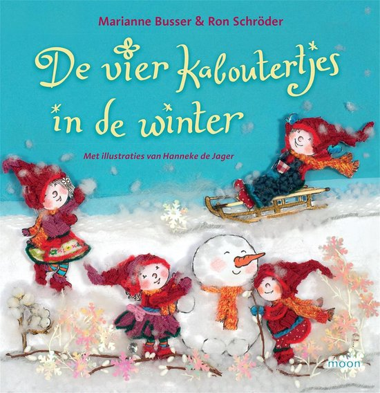 De vier kaboutertjes in de winter