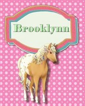 Handwriting and Illustration Story Paper 120 Pages Brooklynn