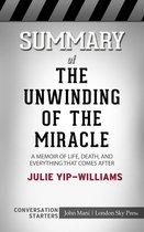 Boek cover Summary of The Unwinding of the Miracle van Paul Adams