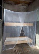 Deconet 'STACK' Klamboe-polyester- voor stapelbed-1 -2 pers-Wit