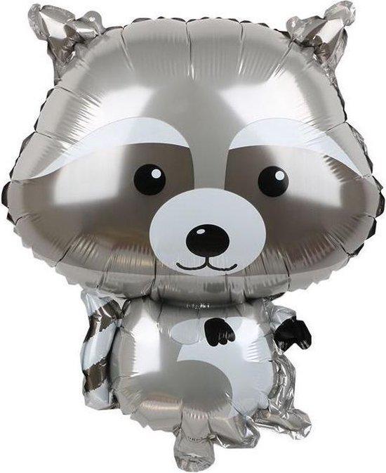 Folieballon XL - 48x65cm - Wasbeer