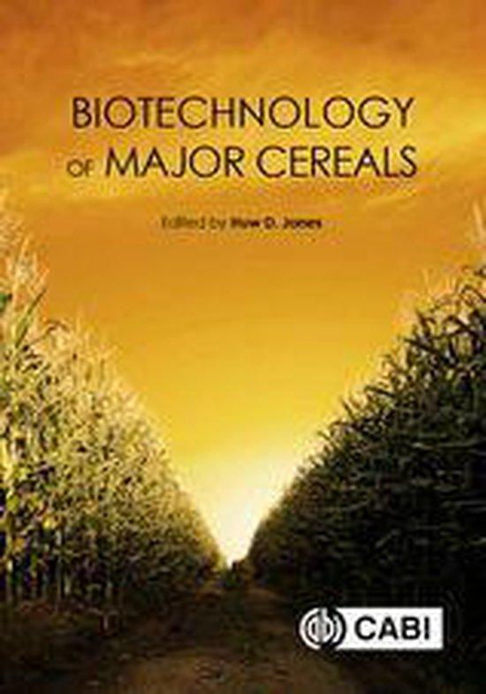 Boek cover Biotechnology of Major Cereals van Jeffrey Beringer (Onbekend)