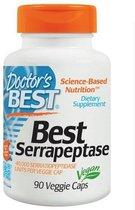 Doctors Best Serrapeptase - 40,000 SPU - 90 Vegetarische Capsules