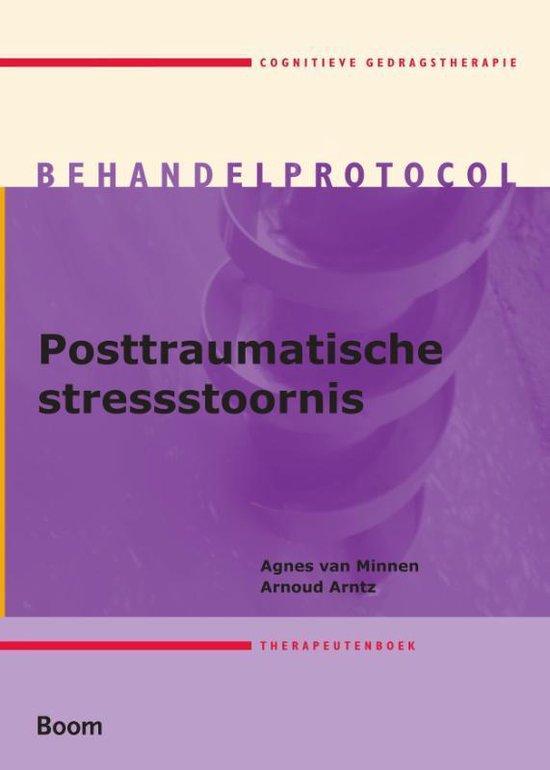 Boek cover Posttraumatische stresstoornis Therapeutenboek van Agnes van Minnen (Paperback)