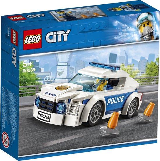 Afbeelding van LEGO City Politiepatrouille Auto - 60239