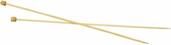Bamboe breinaalden nr.4