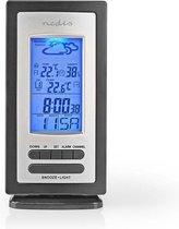 Nedis Weerstation met Alarm- Hygrometer met Buitensensor