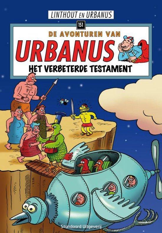 Urbanus 151 Het verbeterde testament - Willy Linthout |